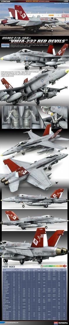 F/A - 18A+ Hornet Sufa Academy Model Scale 1:32