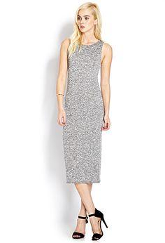 Marled Midi Dress | FOREVER21