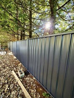 Cedar Wood Fence, Steel Fence, Privacy Fence Designs, Privacy Fences, Fences Alternative, Pipe Fence, Fencing Supplies, Cedar Posts, Fence Styles