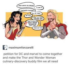 When Greek legend meets Norse legend<<<this is the only Marvel/DC crossover I will accept Marvel Funny, Marvel Vs, Marvel Memes, Marvel Dc Comics, Funny Avengers, Goodbye Brother, Justice League, Chris Evans, Norse Legend
