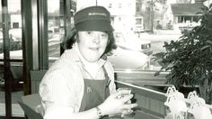 A fast food franchise in Massachusetts celebrated the long career of a woman…