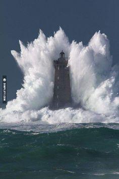 Bell Rock Lighthouse. U.K.