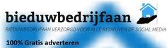 Adverteer gratis met uw bedrijf op http://www.bieduwbedrijfaan.nl zodat u meer gezien wordt.