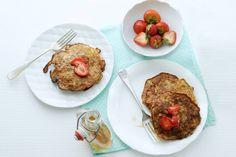 Glutenvrij ontbijten met bananenpannenkoekjes. Zo klaar! - Recept - Allerhande