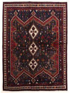 Tapis persans - Afshar  Dimensions:224x166cm