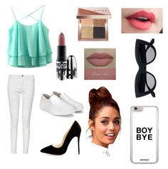 """""""Cute outfit for the day"""" by iceydcc on Polyvore featuring French Connection, MAC Cosmetics and Bobbi Brown Cosmetics"""