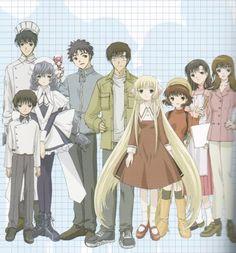Chobits ~~~ CLAMP's adorable story whose characters cross over to Tsubasa, Kobato, etc.