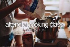 Attend a cooking class