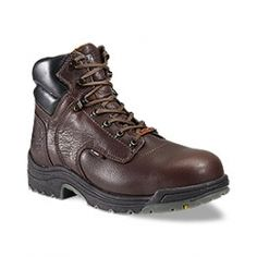 Timberland Pro 26078 TITAN Safety Toe Waterproof Work boot Dark Mocha Boots    http://www.safetyshoes.gtim.com/Timberland-Pro-26078-TITAN-Safety-Toe-Waterproof-Work-boots-Dark-Mocha