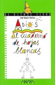 Edad recomendada: De 6 a 8 años Este libro trata de: Crecimiento personal, Dibujo, Imaginación. Más información en: http://www.canallector.com/6455/Adi%C3%B3s_al_cuaderno_de_hojas_blancas