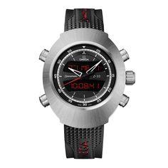 Omega Speedmaster Spacemaster Titanium Chronograph Men's Watch