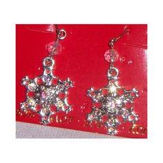 Amazon.com: Austrian Crystal Snowflake Earrings with Gift Box