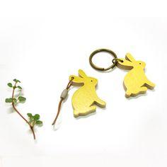 Woody Fam. Key Ring-Rabbit by CPlay