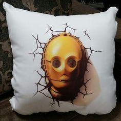 Almofada Star Wars C3PO 35x35