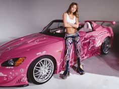 Fast and Furious Pink Car | 2001 Honda S2000 - Conductora: Suki