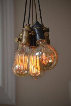 Beleuchtung  Anhänger  Küche Licht  Mixed von WestNinthVintage