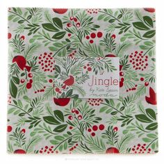 MSQC: Jingle Layer Cake - Kate Spain - Moda Fabrics