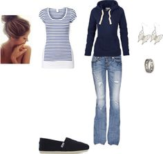 """""""Quick errands outfit"""" by swimmergirl018 on Polyvore"""