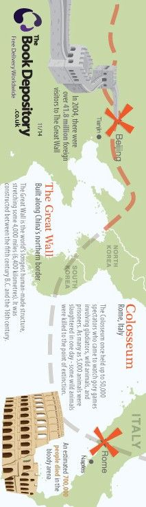 New 7 wonders of the world 4/4 Bookmark - 2012