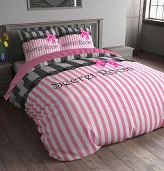 Sleeptime Housse de couette Secret Room - 240x200/220 - Rose + Avec 2 Housse D'oreiller 60x70: Amazon.fr: Cuisine & Maison