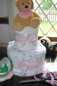make a nappy cake