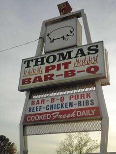 Thomas Pit Barbecue... madison, al =)