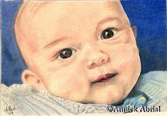 Nils - Portrait d'après photos - Pastel