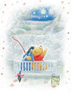 ♥ Winnie Pooh & Friends ♥ What a pretty picture Tigger And Pooh, Cute Winnie The Pooh, Winnie The Pooh Quotes, Winnie The Pooh Friends, Pooh Bear, Disney Fun, Disney Pixar, Eeyore Pictures, Hades Disney