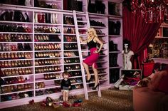 Could You Live With Christina Aguilera's Closet?