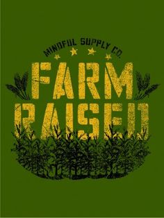 Mindful Supply Co. Farm Raised T-Shirt (Mens), Made in USA