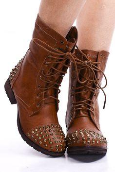 spike studded boot