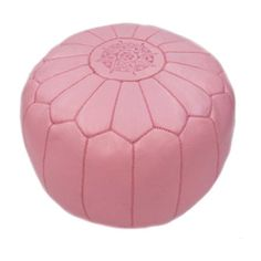 Zuria Ottoman in Pink