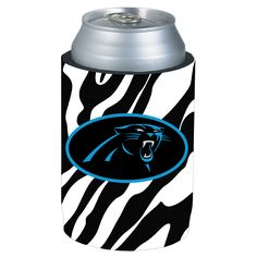 Panthers Zebra Koozie $6  I MUST HAVE THIS!!
