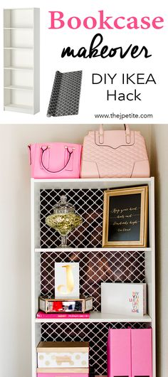 Bookcase Makeover - DIY IKEA Hack