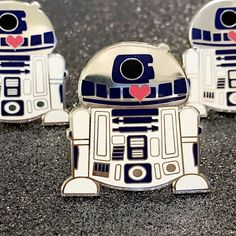 Star Wars R2D2 Hard Enamel Pin by TheBasicGirlShop on Etsy