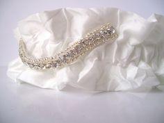 closeup of the garter