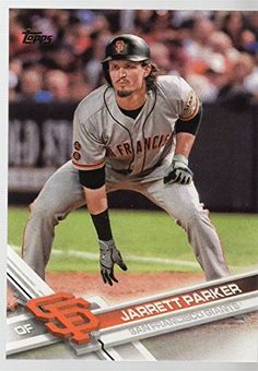 2017 Topps #410 Jarrett Parker San Francisco Giants  Nrmt-Mint or Better (unless otherwise noted in the title)  1000s of items in our store!  We Ship Worldwide!  Order more within one cart and SAVE more!  Check out our current promotion ;-) also Gift Wrapping now Available at Checkout!