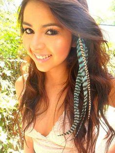Plumitas para el pelo ^^
