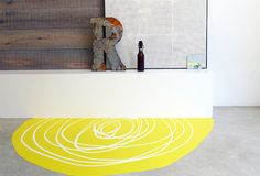 splotch is a hand made unique carpet made of PU by Jeanet Hönig