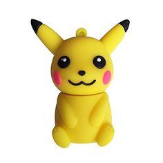 Lovely Mini Pokemon Pikachu 8GB Mini Flash Dive.  Pokemon gifts for her. Pokemon gifts for him.  Get more here: http://www.iwantpokemon.com/