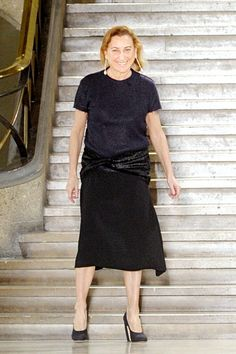 Miuccia Prada... bow down
