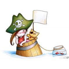 Pirata 1 - Sticker