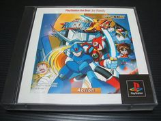 MINT Rock man X4 the Best / Mega Man Play Station PS Import Japan 867