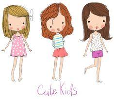 Cute kids by Natalia Skripko