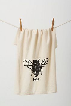 All The Buzz Dishtowel #anthropologie
