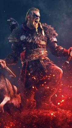 Assassins Creed Wallpaper Iphone, Assassin's Creed Wallpaper, Arte Assassins Creed, Assassins Creed Odyssey, Desenhos Clash Royale, Viking Warrior, Viking Life, Gaming Wallpapers, God Of War