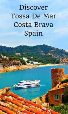 Discovering tiny Tossa De Mar, Costa Brava, Spain.
