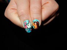 valentine in love nails