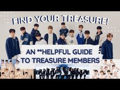 트레저 TREASURE Members 2021 [Profile Guide: Names, ages] | #shorts - YouTube