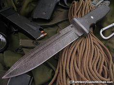 Maker:  Olamic cutlery Handle Material: Aerospace Carbon Fiber  Blade Steel: High Carbon Vanadium Damascus Blade Length: 6 1/4